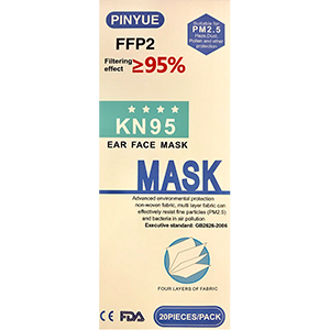 PW0916145 - KN95 PROTECTIVE FACE MASK :